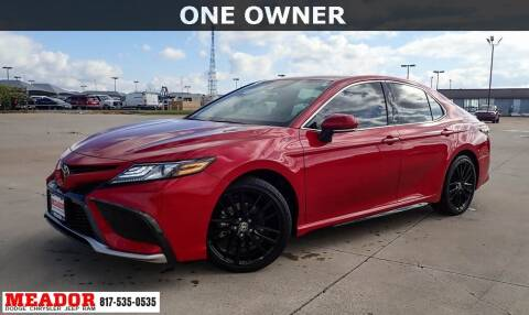 2021 Toyota Camry for sale at Meador Dodge Chrysler Jeep RAM in Fort Worth TX