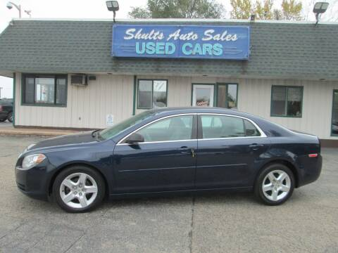 2012 Chevrolet Malibu for sale at SHULTS AUTO SALES INC. in Crystal Lake IL