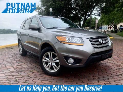 2011 Hyundai Santa Fe for sale at PUTNAM AUTO SALES INC in Marietta OH