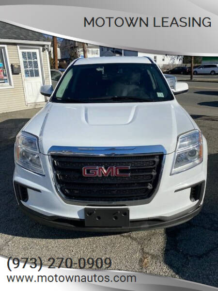 2016 GMC Terrain for sale at Motown Leasing in Morristown NJ