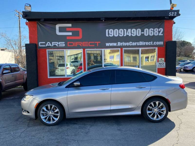 2015 Chrysler 200 for sale at Cars Direct in Ontario CA