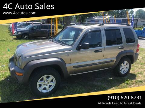 2004 Jeep Liberty for sale at 4C Auto Sales in Wilmington NC