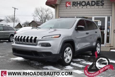 2014 Jeep Cherokee for sale at Rhoades Automotive in Columbia City IN