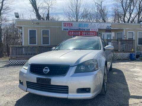 2006 Nissan Altima for sale at Seven and Below Auto Sales, LLC in Rockville MD
