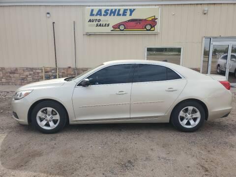 2014 Chevrolet Malibu for sale at Lashley Auto Sales in Mitchell NE
