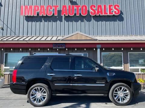 2013 Cadillac Escalade for sale at Impact Auto Sales in Wenatchee WA