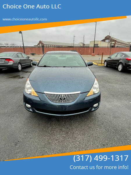 2006 Toyota Camry Solara for sale at Choice One Auto LLC in Beech Grove IN