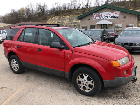 2003 Saturn Vue for sale at Gilly's Auto Sales in Rochester MN