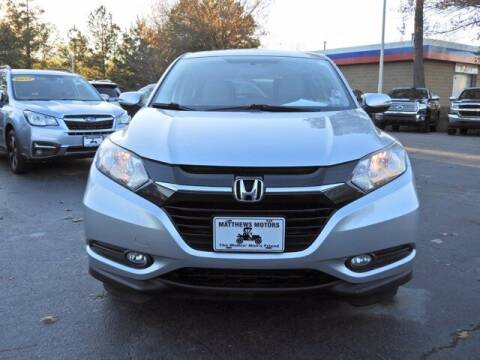 2016 Honda HR-V for sale at Auto Finance of Raleigh in Raleigh NC