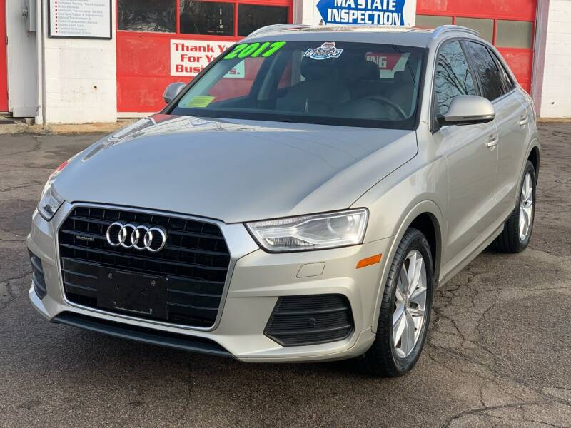 2017 Audi Q3 for sale at Milford Automall Sales and Service in Bellingham MA