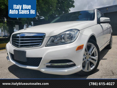 2013 Mercedes-Benz C-Class for sale at Italy Blue Auto Sales llc in Miami FL