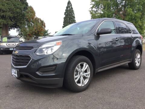2017 Chevrolet Equinox for sale at Pacific Auto LLC in Woodburn OR