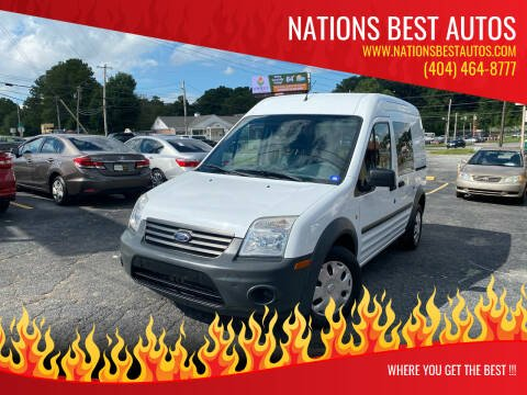 2013 Ford Transit Connect for sale at Nations Best Autos in Decatur GA