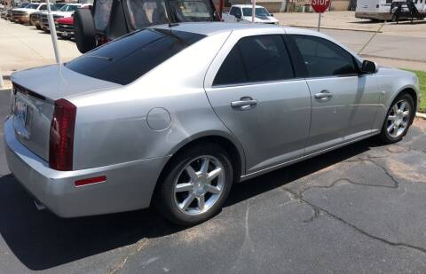 2005 Cadillac STS for sale at Westok Auto Leasing in Weatherford OK
