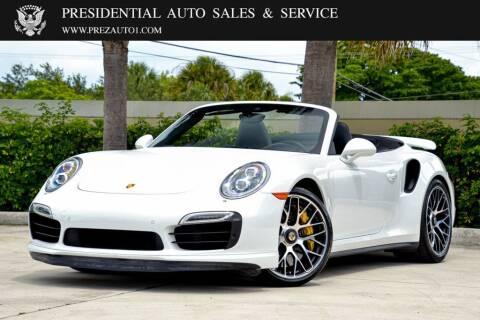 2016 Porsche 911 for sale at Presidential Auto  Sales & Service in Delray Beach FL