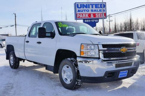 2013 Chevrolet Silverado 2500HD for sale at United Auto Sales in Anchorage AK