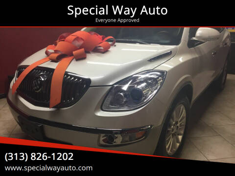 2012 Buick Enclave for sale at Special Way Auto in Hamtramck MI