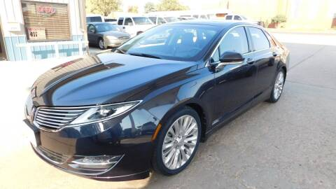 2013 Lincoln MKZ for sale at Mid Kansas Auto Sales in Pratt KS
