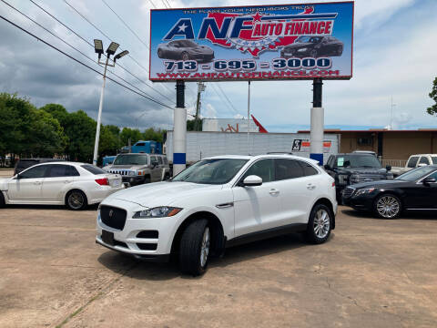 2017 Jaguar F-PACE for sale at ANF AUTO FINANCE in Houston TX