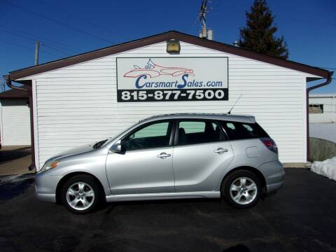 2005 Toyota Matrix for sale at CARSMART SALES INC in Loves Park IL