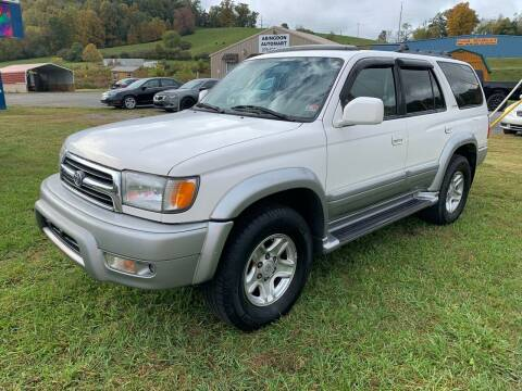 2000 Toyota 4Runner for sale at ABINGDON AUTOMART LLC in Abingdon VA