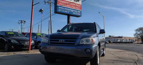 2005 Toyota Highlander for sale at Nationwide Auto Group in Melrose Park IL