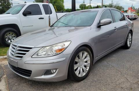 2009 Hyundai Genesis for sale at Fletcher Auto Sales in Augusta GA
