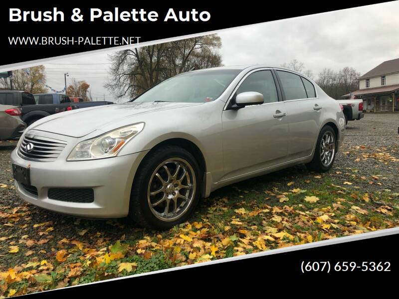 2007 Infiniti G35 for sale at Brush & Palette Auto in Candor NY
