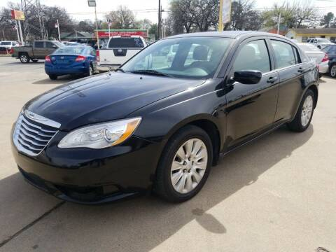 2012 Chrysler 200 for sale at Nile Auto in Fort Worth TX