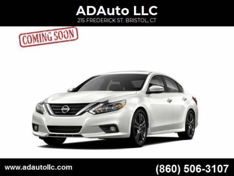2016 Nissan Altima for sale at ADAuto LLC in Bristol CT
