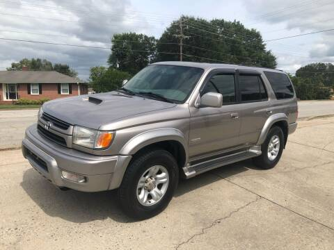 2002 Toyota 4Runner for sale at E Motors LLC in Anderson SC