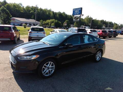 2014 Ford Fusion for sale at Ripley & Fletcher Pre-Owned Sales & Service in Farmington ME