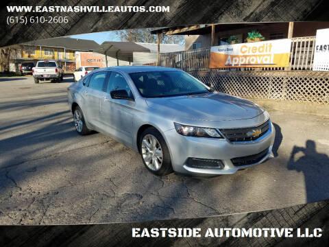 2015 Chevrolet Impala for sale at EASTSIDE AUTOMOTIVE LLC in Nashville TN