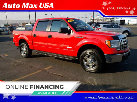 2011 Ford F-150 for sale at Auto Max USA in Yakima WA