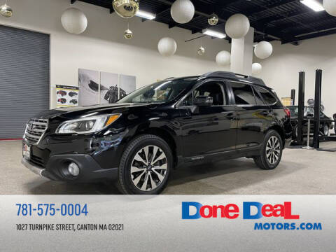 2016 Subaru Outback for sale at DONE DEAL MOTORS in Canton MA