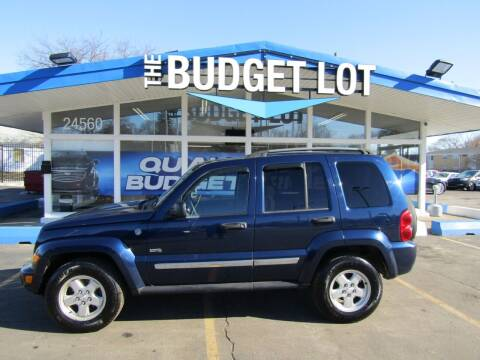 2006 Jeep Liberty for sale at THE BUDGET LOT in Detroit MI