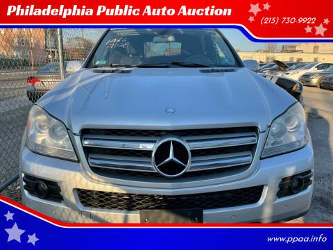 2008 Mercedes-Benz GL-Class for sale at Philadelphia Public Auto Auction in Philadelphia PA