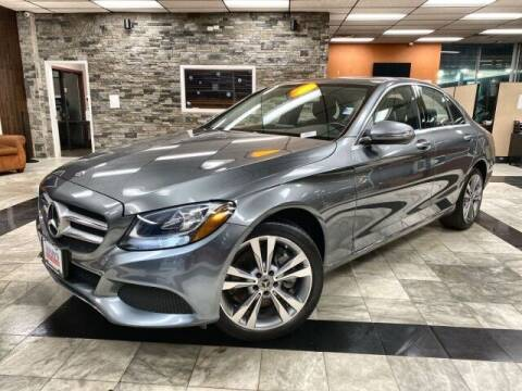 2018 Mercedes-Benz C-Class for sale at Sonias Auto Sales in Worcester MA