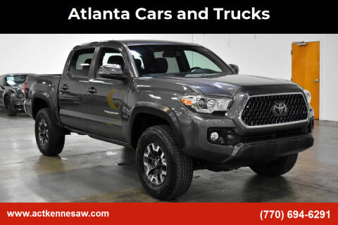 2018 Toyota Tacoma for sale at Atlanta Cars and Trucks in Kennesaw GA