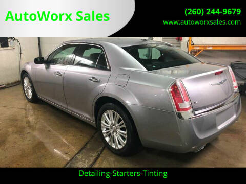 2014 Chrysler 300 for sale at AutoWorx Sales in Columbia City IN