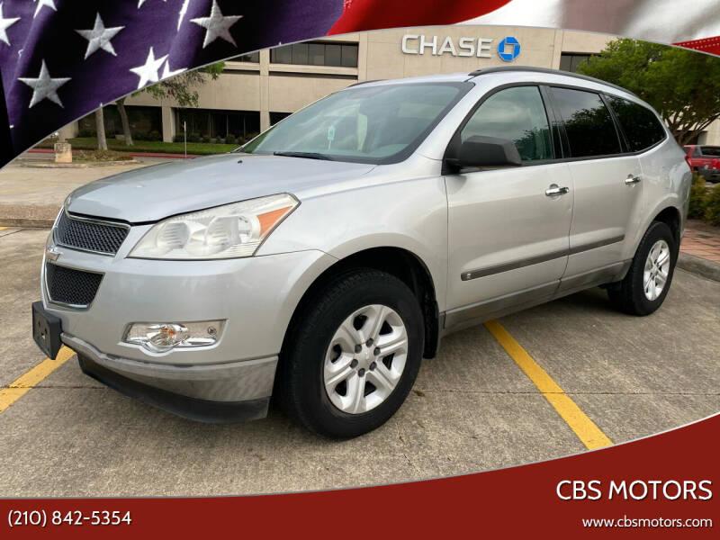 2009 Chevrolet Traverse for sale at CBS MOTORS in San Antonio TX