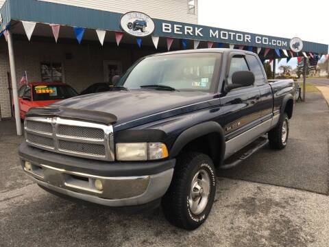 2001 Dodge Ram Pickup 1500 for sale at Berk Motor Co in Whitehall PA