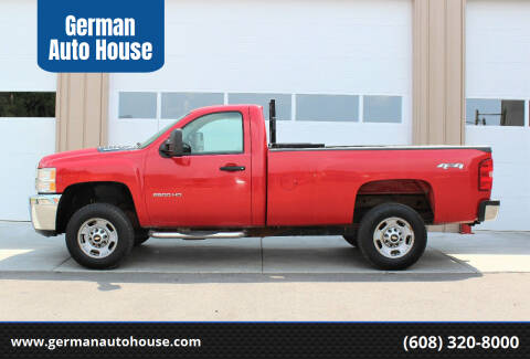 2011 Chevrolet Silverado 2500HD for sale at German Auto House in Fitchburg WI