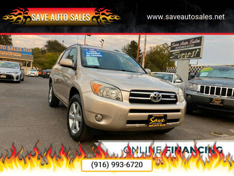 2008 Toyota RAV4 for sale at Save Auto Sales in Sacramento CA