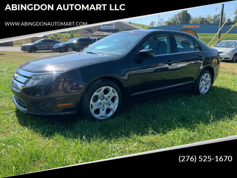 2011 Ford Fusion for sale at ABINGDON AUTOMART LLC in Abingdon VA