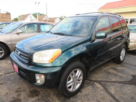 2003 Toyota RAV4 for sale at Bells Auto Sales in Hammond IN