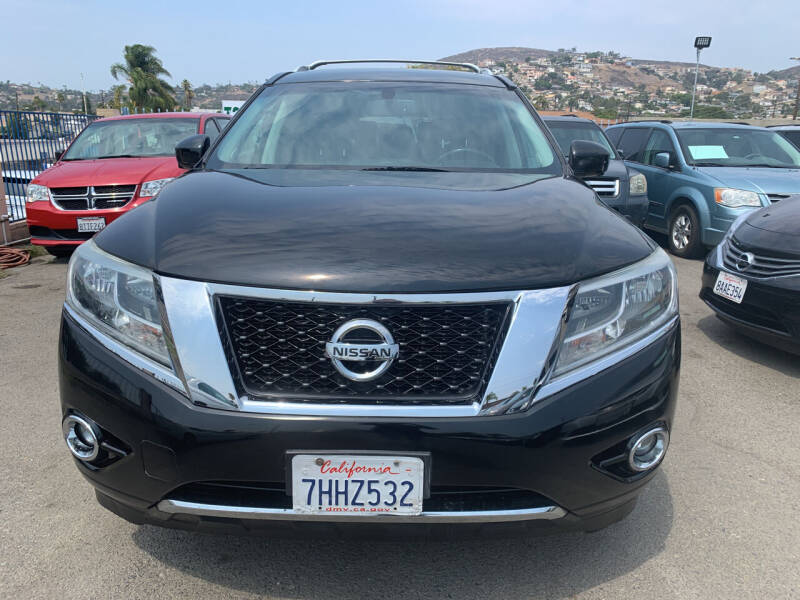 2014 Nissan Pathfinder for sale at GRAND AUTO SALES - CALL or TEXT us at 619-503-3657 in Spring Valley CA