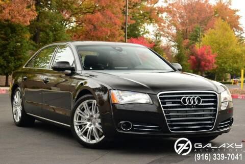2013 Audi A8 L for sale at Galaxy Autosport in Sacramento CA