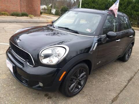 2011 MINI Cooper Countryman for sale at Hilton Motors Inc. in Newport News VA