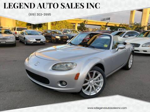 2006 Mazda MX-5 Miata for sale at Legend Auto Sales Inc in Lemon Grove CA